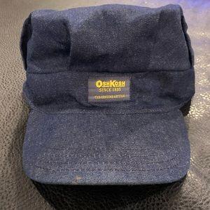 Vintage denim OshKosh engineer cap